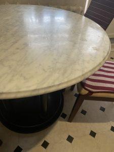 stone care - мраморный стол лак переполировка 2020
